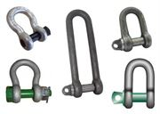 assorted shackles