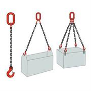 Chain slings and lifting chains